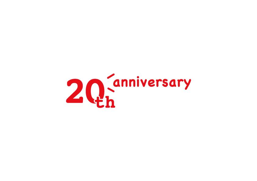 エフエム大分 開局20周年記念ロゴ