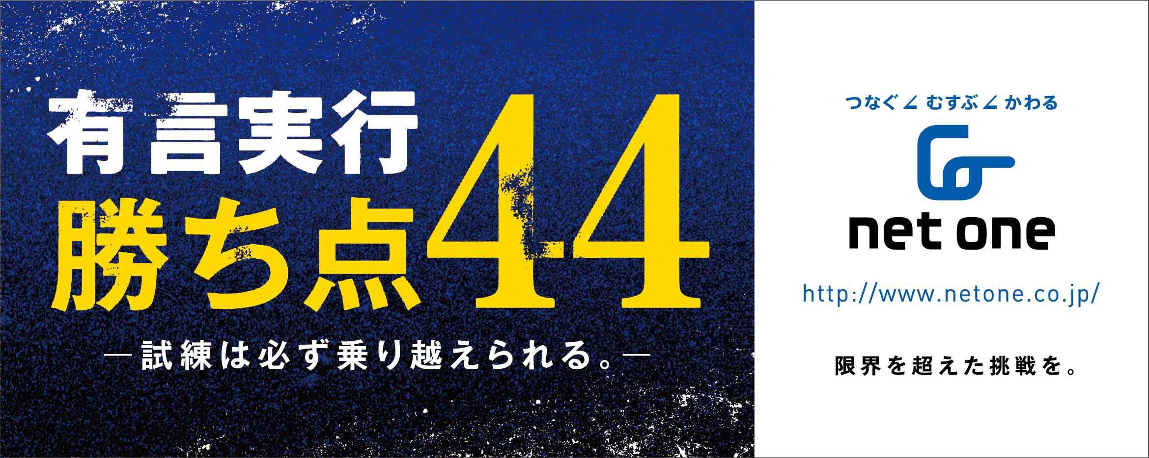 NetOne OITA TRINITA 20150915 第33節 ギラヴァンツ北九州戦 広告