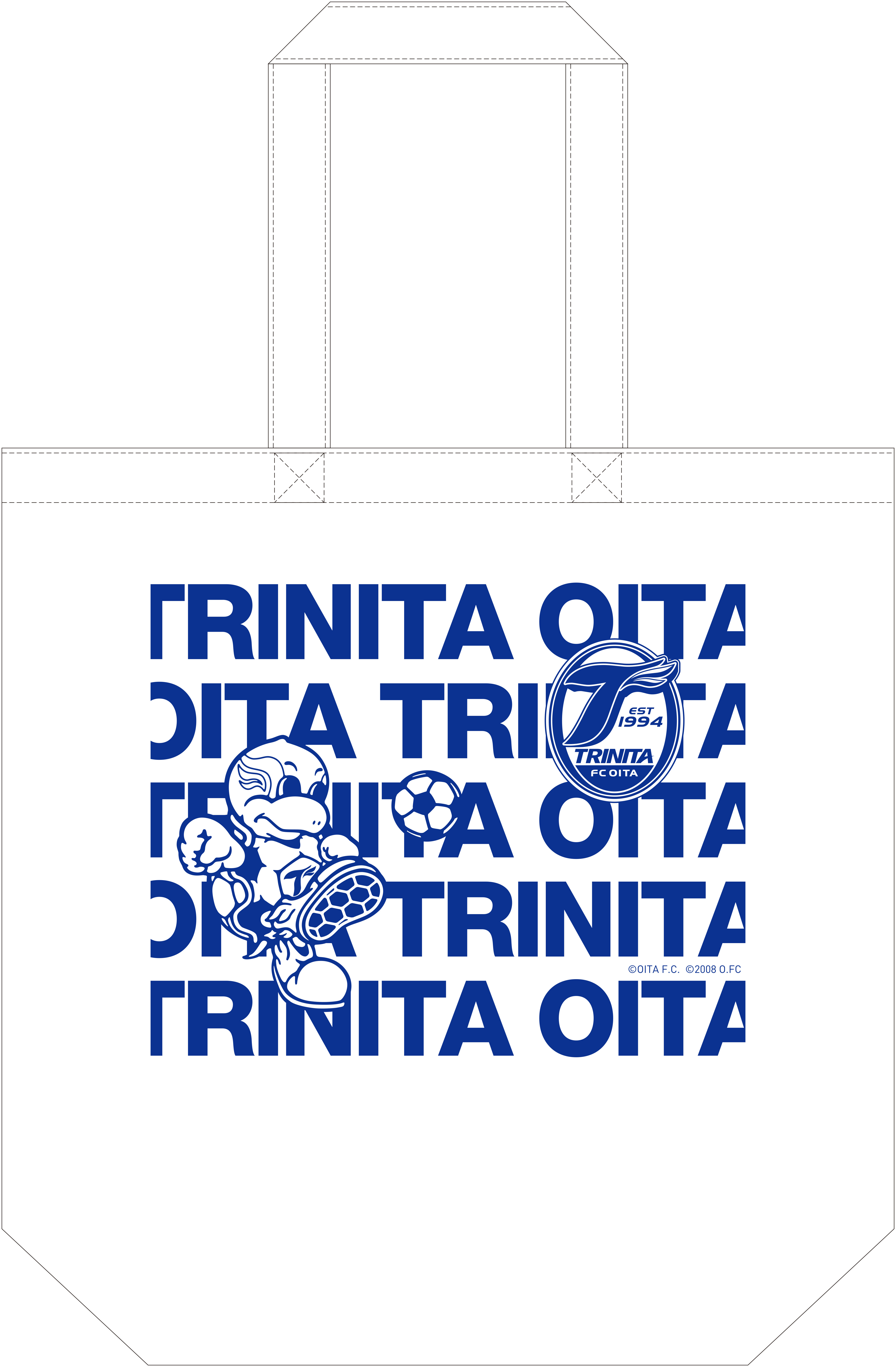 OITA TRINIITA 2014グッズ コットンバッグM